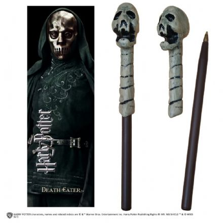 Death Eater Skull Wand Pen and Bookmark